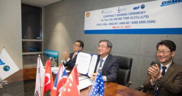 韓国造船大手、1000億円超案件受注…30万トン級VLCC10隻 米欧亜から