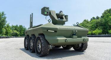 韓国軍が初めて無人装甲車を導入 自動で攻撃しパンク時も駆動維持 現代自動車の系列社が納品