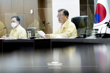 文大統領「大韓民国をグローバルワクチンハブ国家に」 国家戦略技術分野に指定