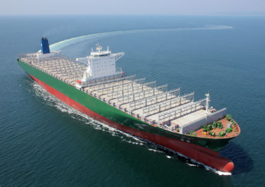 韓国造船海洋、800億円規模コンテナ船8隻受注