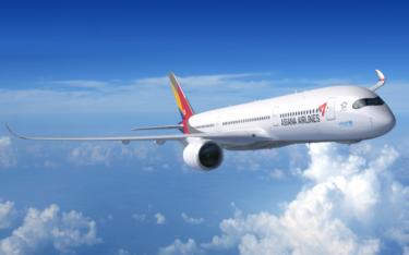 アシアナ航空が108億円規模社債発行 大韓航空とのM&A期待で発行成功