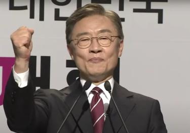 韓国野党の崔大統領選候補「中国がとやかく言うこと容認しない」 韓米合同軍事訓練への反対に