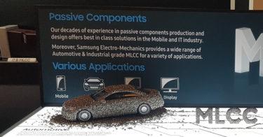 サムスン電機、自律走行車用MLCC2種を発表 「電装用市場でシェアを拡大する」