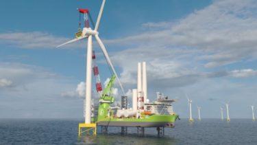 韓国斗山重工業、海上風力設置船の核心部品を国産化 大宇造船に供給